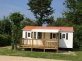 Rental - Cottage Océan Eco 29M² 2 Bedrooms (Baby Bed) + Sheltered Terrace 13M² - Flower CAMPING LA BRETONNIERE