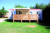Rental - Cottage Campagn Confort+   30M² 3 Bedrooms + Sheltered Terrace 11M² - Flower CAMPING LA BRETONNIERE