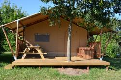 Safari Lodge Premium 35M2 Equiped 2 Bedrooms With Sanitairy Covered Terrasse 15M2