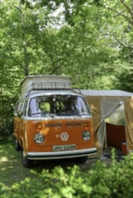 Emplacement - Forfait A : Emplacement 80m² - - Camping Sunêlia Col d'Ibardin