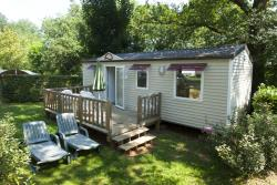Rental - Mobile home 3 bedrooms (sunday to Sunday) with terrace - Camping Les Grottes de Roffy