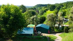 Pitch - Pitch tent for 2 people inlclued - Camping Les Grottes de Roffy