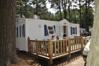Mobile Home 2 Bedrooms Nighttime
