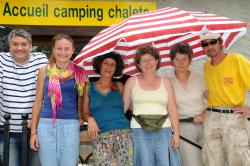 Reception team Camping Qualité Le Paisserou - Najac