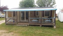 Mobil-home CONFORT 33m² / 3 chambres - terrasse couverte