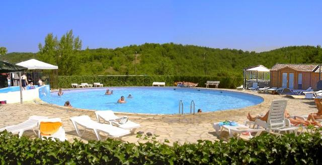 Mare, piscina Camping Quercy Vacances **** - Saint Pierre Lafeuille