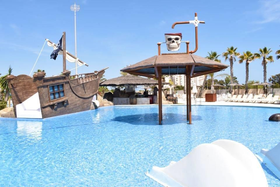 Mare, piscina Marjal Guardamar Camping & Resort - Guardamar del Segura