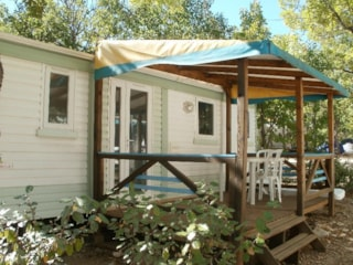 Mobile Home Eco 21M² (2 Bedrooms) + Sheltered Terrace 8M²