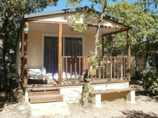 Chalet Eco 21M² (2 Bedrooms) + Sheltered Terrace 8M²