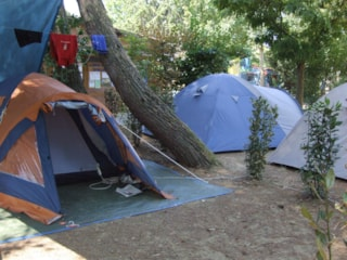 SMALL TENT pitch FORFAIT - 2 persons