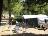 Pitch - COMFORT pitch FORFAIT (surface between 70 m² and 90 m²) - (2 people included) - Camping Villaggio Italgest