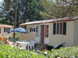 Rental - Mobile Home SUPERIOR 24 m² - 4 Beds + 2 extra persons in the livingroom - 1 bathroom - garden - optional airconditioning - Camping Villaggio Italgest