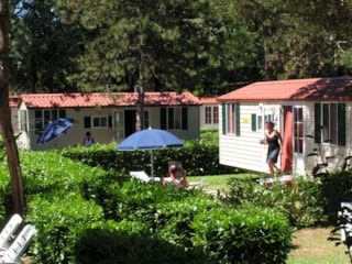 Mobile Home SUPERIOR 24 m² - 4 Beds - 1 bathroom - garden - optional airconditioning