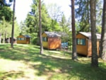 Huuraccommodaties - Hutte Anaïs 7m² - Camping Le Val Saint Jean