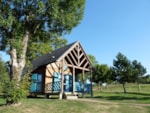 Huuraccommodaties - Chalet **** 35m² Plain-pied - Camping Le Val Saint Jean