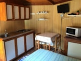 Rental - 1-room Bungalow  with hexagon-shape per night - Villaggio Camping Valdeiva