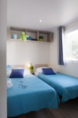 Rental - Mobile home Flots Eco  25m² (2 bedrooms) + sheltered terrace - Flower Camping les Genêts