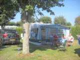 Pitch - Comfort Package (1 tent, caravan or motorhome / 1 car / electricity 10A) - Flower Camping les Genêts