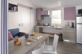Rental - Mobile home Hélios Confort + 32m² wheelchair friendly (2 bedrooms) + terrace - Flower Camping les Genêts