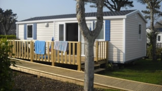 Mobile Home Hélios Confort + 32M² Wheelchair Friendly (2 Bedrooms) + Terrace