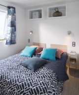 Rental - Mobile home Océan Confort + 25m² (2 bedrooms) + sheltered terrace - Flower Camping les Genêts