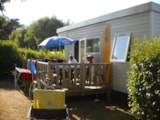 Rental - Mobile home Déclik Confort + 27m² (2 bedrooms) + terrace - Flower Camping les Genêts