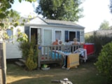 Rental - Mobile home Marin Confort +  27m² (2 bedrooms) + terrace - Flower Camping les Genêts