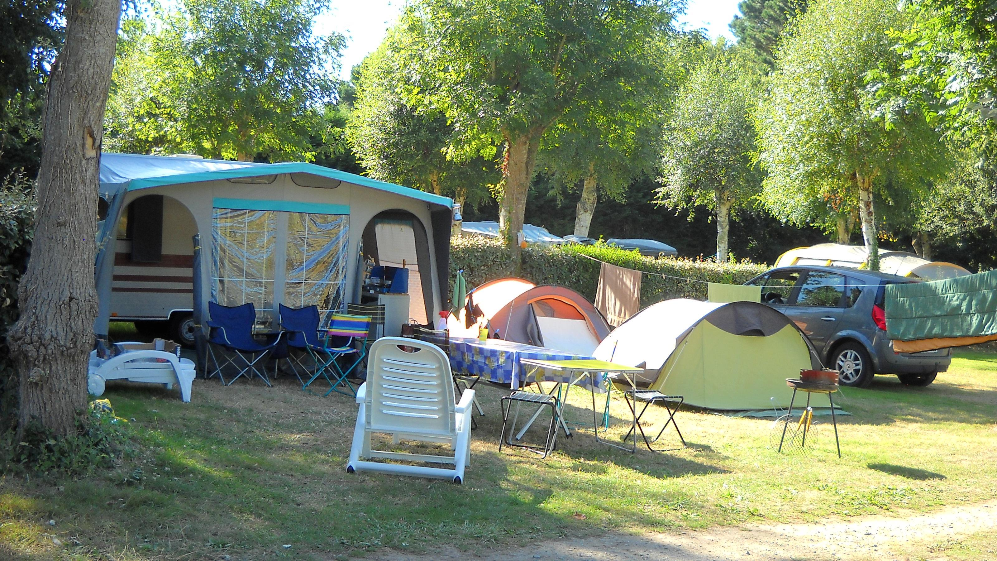 Camping les Genets, Penmarch, Finistère