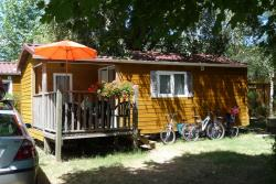 Accommodation - Mobile Home Fluvial 32M² 2 Bedrooms - Camping Ile de la Comtesse