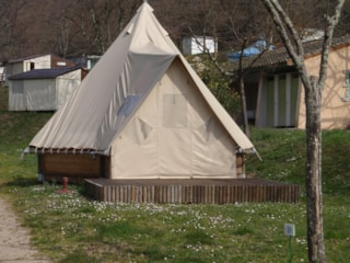 Tipi Canvas And Wood 18Sqm 2 Bedroom River Edge