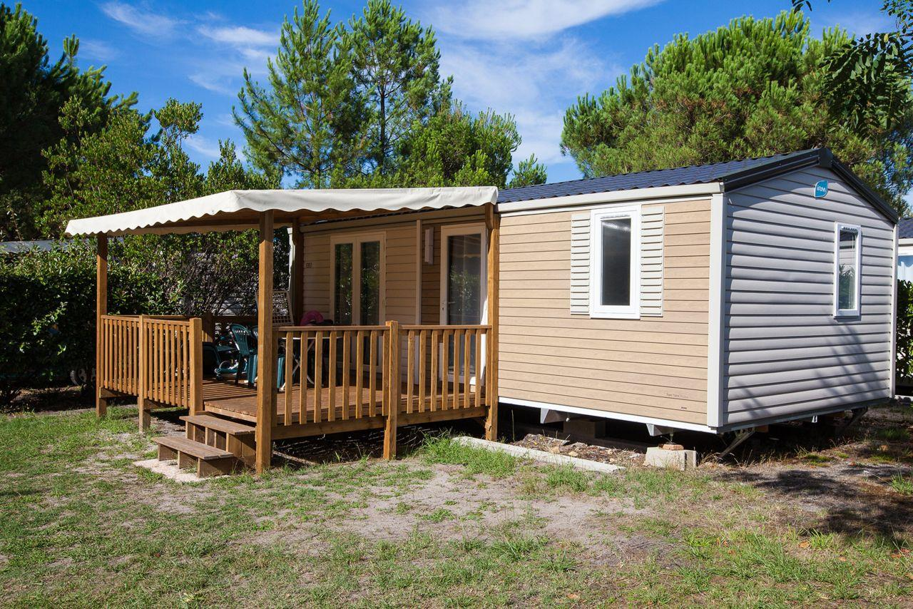Location - Cottage 2 Chambres **** - Camping Sandaya Sanguinet Plage