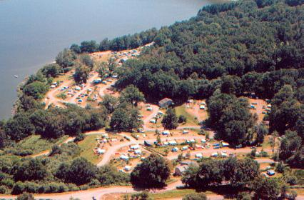 Standplaats - Emplacement - Camping Les Aubazines