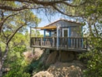 Rental - Bungalow Llevant on piles 1 room - Unusual Lodging - air-conditioning - YELLOH! VILLAGE - SANT POL