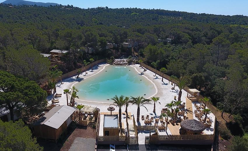 Establishment CAMPING LA PIERRE VERTE - Fréjus