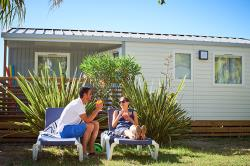 Rental - COTTAGE 4 pers. 2 bedrooms *** air-conditioning - Les Méditerranées - Camping Charlemagne