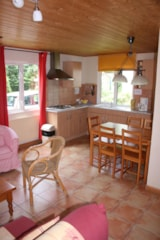 Rental - Lodge (52 m²) - Château Camping La Grange Fort
