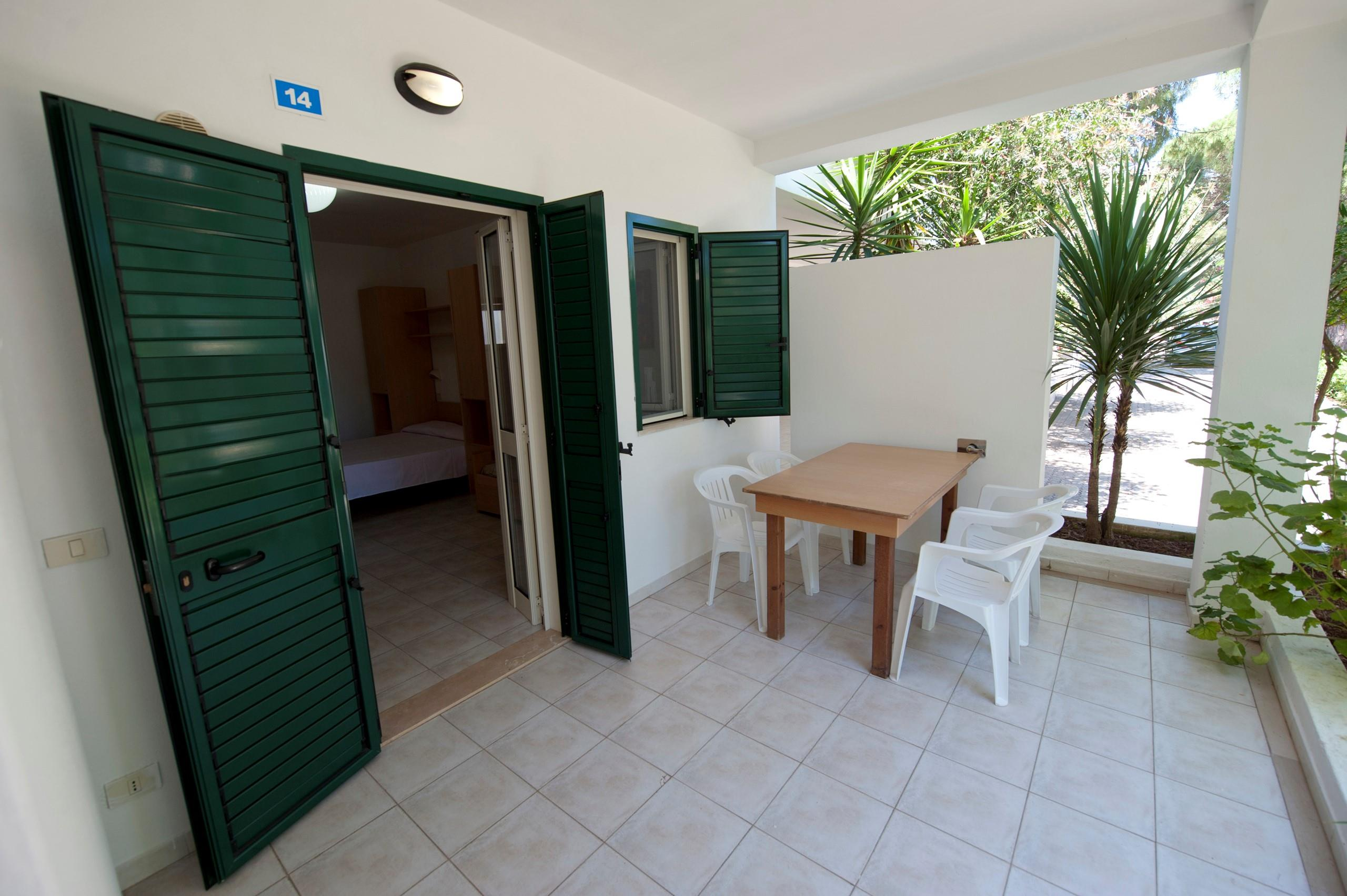 Location - Bungalow 'Giada' Une Pièce - Camping Le Diomedee