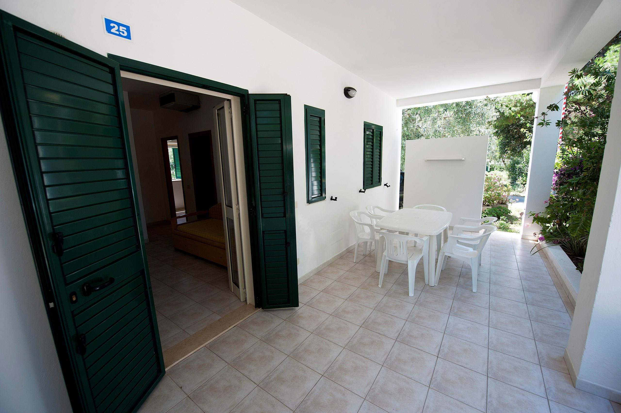 Location - Bungalow 'Giada' Trois Pièces - Camping Le Diomedee