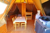 Rental - Tipi on stilts - VivaCamp Lac Bleu