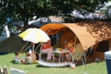 Pitch - Family Package + electricity- 2 adults + 2 children under 12 years - VivaCamp Lac Bleu