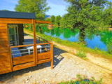 Rental - cottage Loggia 2 bedrooms near the Lake - VivaCamp Lac Bleu