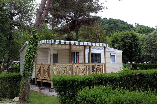 Location - Mobil Home Nirvana 36 M2 Quattro - Camping Le Moulin de Serre