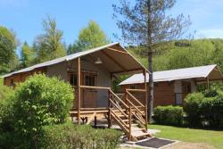 Accommodation - Cabin Lodge Africa On Stilts 39 M2 - Camping Le Moulin de Serre