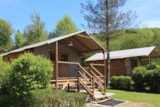 Rental - Lodge Africa On Stilts 39 M2 - Camping Le Moulin de Serre