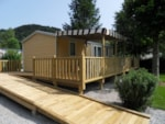 Wheelchair friendly Camping Le Moulin De Serre - Singles