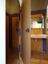 Pitch - Camping pitches with private bathroom - Camping Les Coudoulets