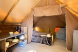 Rental - Canadien Tent with Terrace - Camping Les Coudoulets