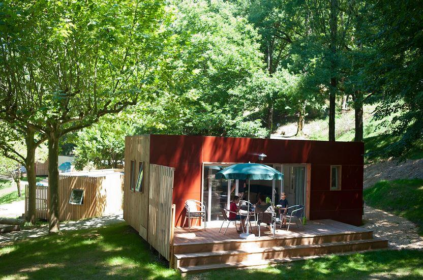 Locatifs - Mobile Home Vancouver - Huttopia Bourg Saint Maurice