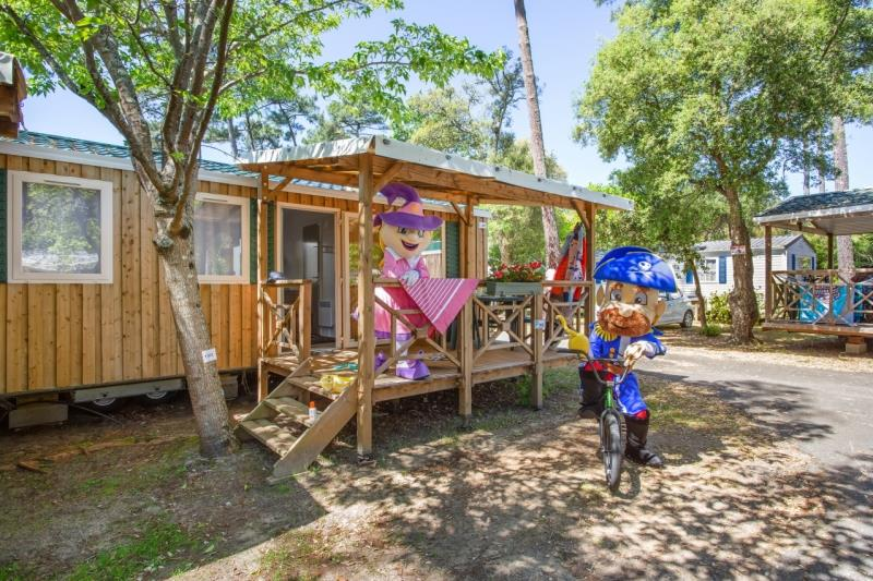 Location - Mobil Home Mini Habana Duo 20M² - Capfun - Camping Le Curtys'