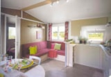 Rental - Cottage Florès ((30m²) 2 bedrooms and covered terrace. - Camping Sites et Paysages DE VAUBARLET